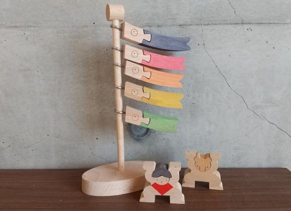 木製 こいのぼり 卓上